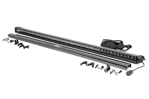 ROUGH COUNTRY 50-INCH STRAIGHT CREE LED LIGHT BAR - (SINGLE ROW | BLACK SERIES)