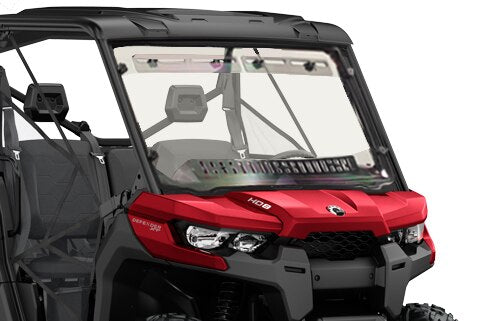 Can-Am Defender Multi-Vent Windshield W/Hard Coat by Spike Power Sports