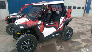 RZR 900 (2015+ Trail, XC, & S) and 1000 S (2016+) Lower UTV Doors by Ryfab (Free Shipping to the Lower 48)