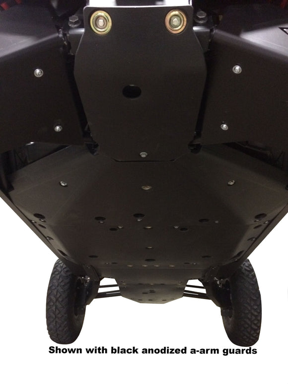 Ricochet 5-Piece UHMW Full Frame Skid Plate Set, Polaris RZR XP 4 Turbo S