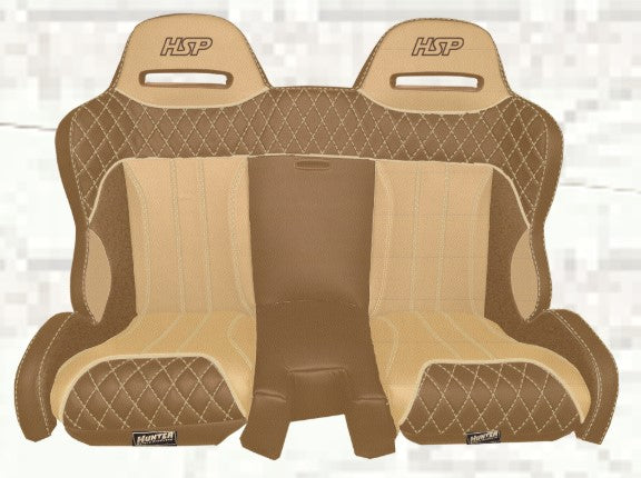 EDGE Can-Am X3 Rear Bench Seat by Hunter Safety Products