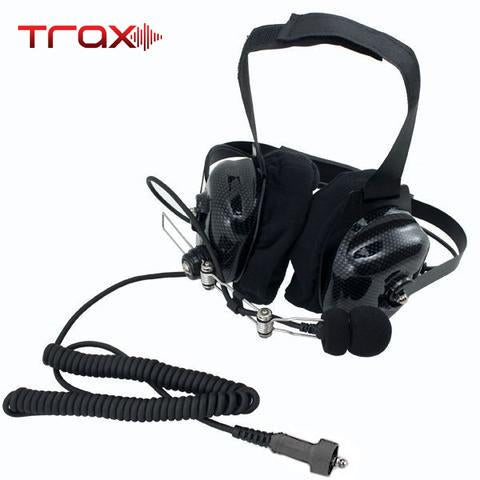 Trax Stereo BTH (Behind The Head) Headset by PCI Race Radios