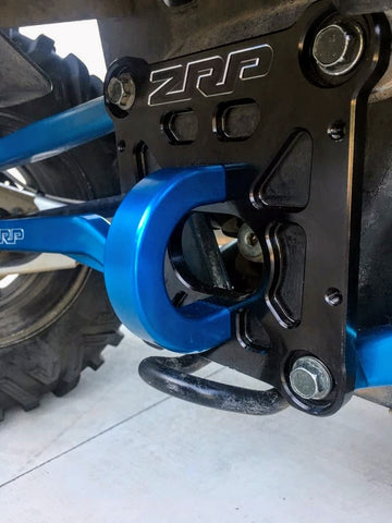 RZR HD Billet Radius Rod Plate by ZRP (Zollinger)