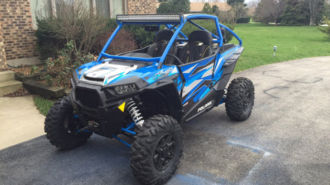 Dirt Engineered Doors by Desert Works for RZR 1000 and Turbo