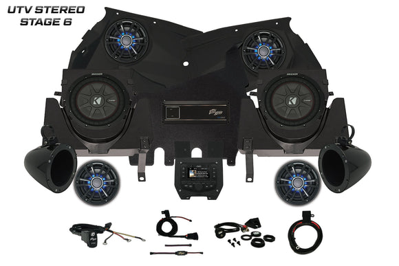 CAN-AM X3 UTV STEREO STAGE 6 By: UTV Stereo