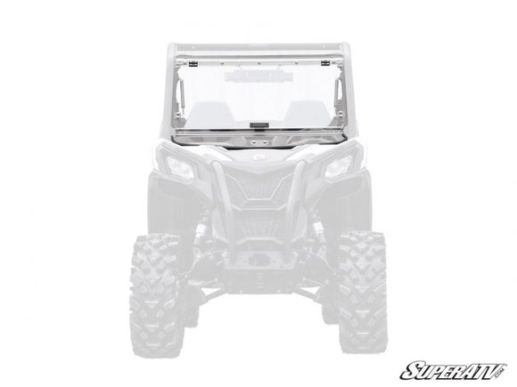 Can-Am Maverick Trail Scratch Resistant Flip Windshield by SuperATV
