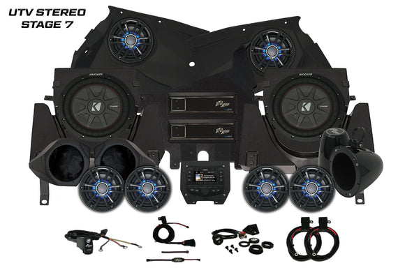 CAN-AM X3 UTV STEREO STAGE 7 By: UTV Stereo