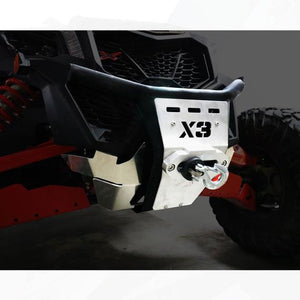 Front Bumper Can Am Maverick X3 / X3 Max w/winch mount