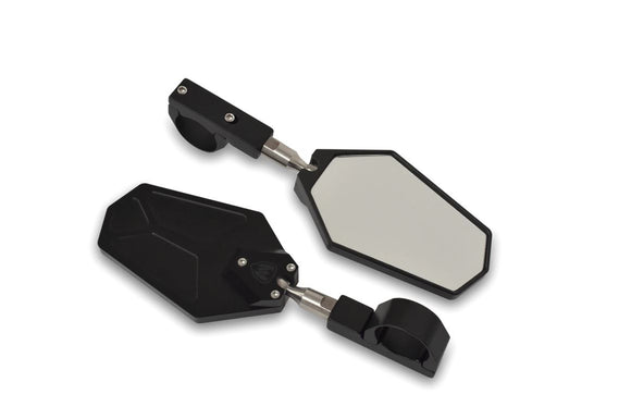 BILLET CONVEX MIRRORS (SET OF 2) By Moto Armor