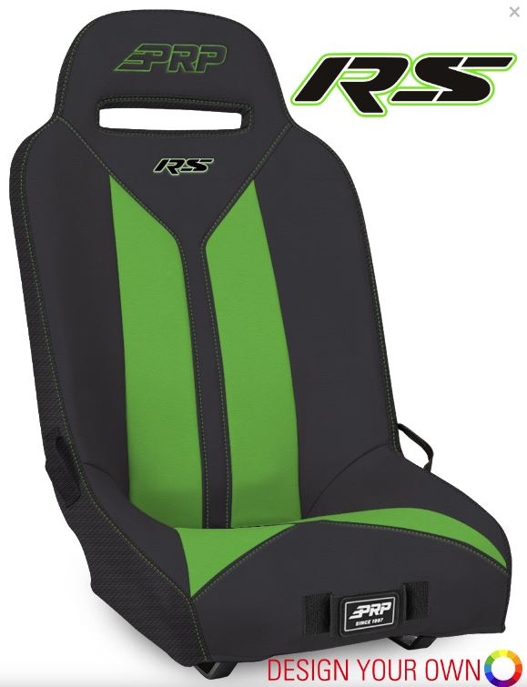 (DESIGN YOUR OWN) RS SUSPENSION SEAT- KAWASAKI KRX (PAIR) by PRP