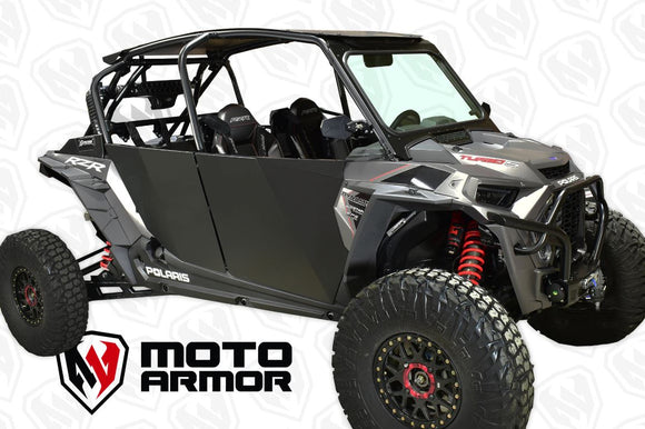 ALUMINUM DOORS FOR RZR XP 4 1000, TURBO, TURBO S by MotoArmor