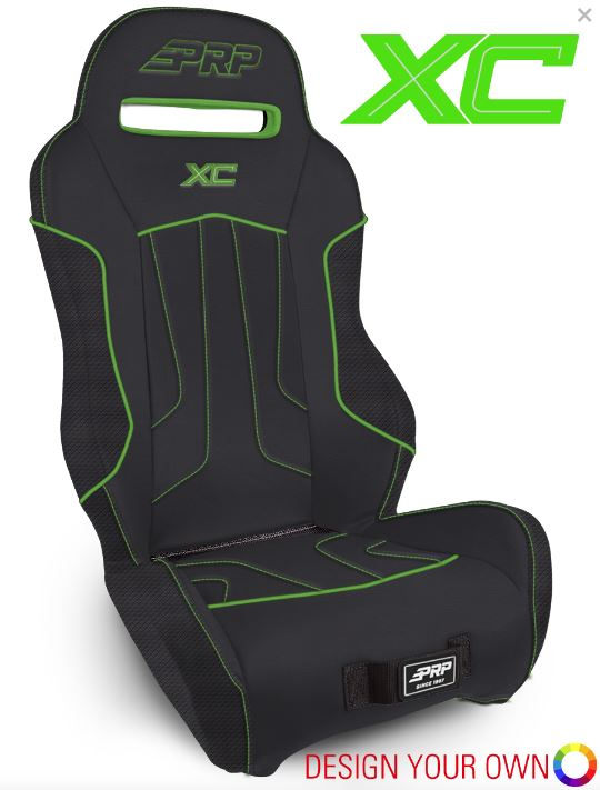 (DESIGN YOUR OWN) XC SUSPENSION SEAT – KAWASAKI KRX (PAIR) (PAIR) by PRP