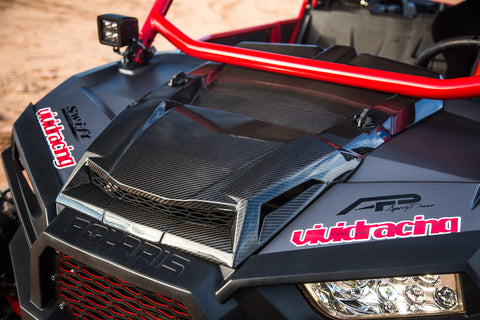 Agency Power Carbon Fiber Hood Scoop Polaris RZR XP 1000 | Turbo 14-18
