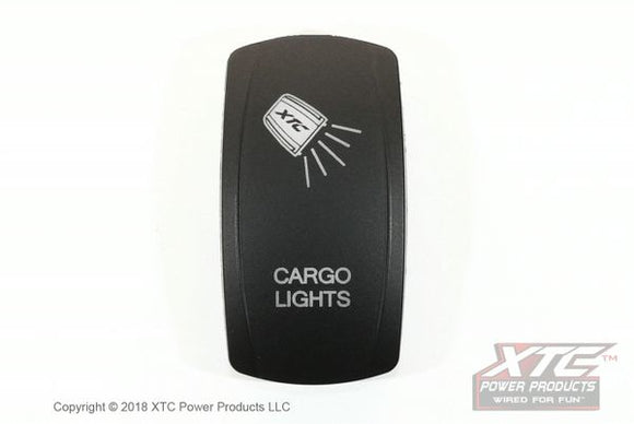 Carling LED Switch with CARGO LIGHTS Actuator/Rocker