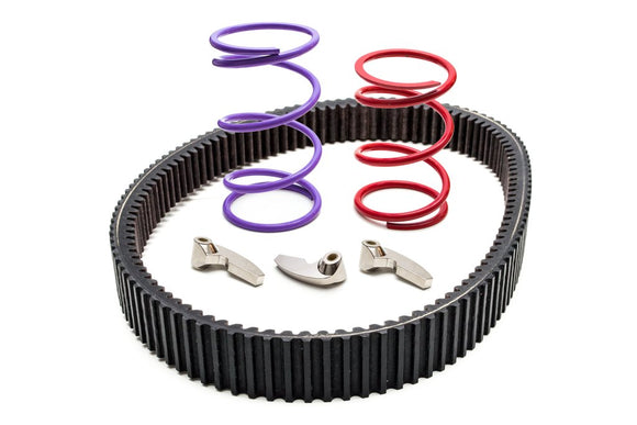 CLUTCH KIT FOR RZR TURBO (0-3000') STOCK TIRES (2016) by Trinity Racing