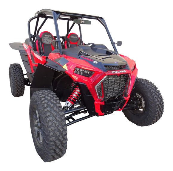 MudBusters Polaris RZR XP Turbo-S Race-Lite Fender Flares