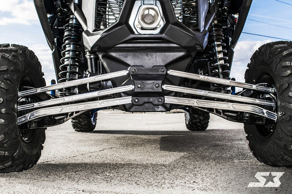 S3 MAVERICK X3 HD HIGH CLEARANCE BILLET ALUMINUM RADIUS RODS