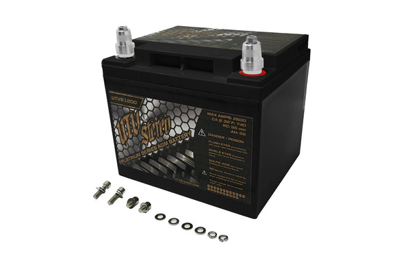 RZR UTVS1200 UTV STEREO PLATINUM SERIES AGM BATTERY BY UTV STEREO