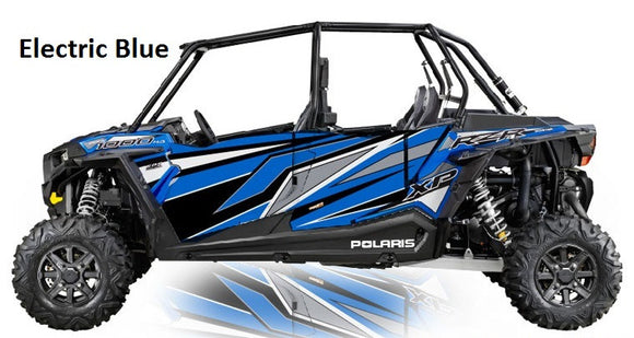 2016 RZR Turbo 4 Door Graphics Kit by Proline Graphics