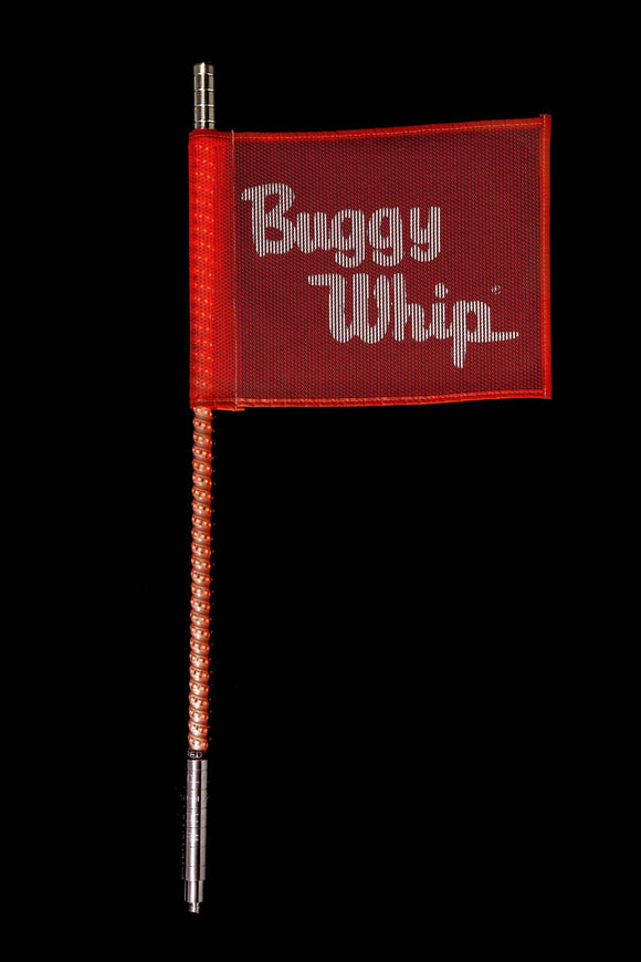 RED LED BUGGY WHIP® by Buggy Whip