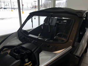 Can-Am Maverick X3 Laminated Glass Windshield with Slide Vent by EMP