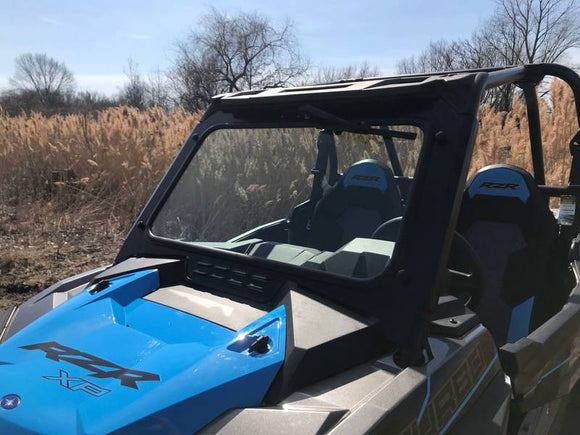 EMP Laminated Safety Glass Windshield w/Vent for 2019+ RZR XP 1000/Turbo