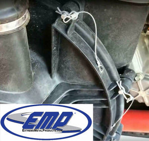 Can-Am X3 Quick Release Belt Shroud Kit (does not include belt shroud) by EMP