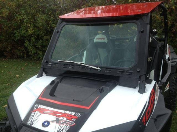 RZR XP1000 and 2015-18 RZR 900, 2016-18 RZR-S 1000 Laminated Safety Glass Windshield with Wiper - by EMP