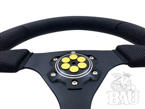 "BAU (Bad Ass Unlimited) Six Shooter Steering Wheel Face Plate "" Doc Holiday Collection"""
