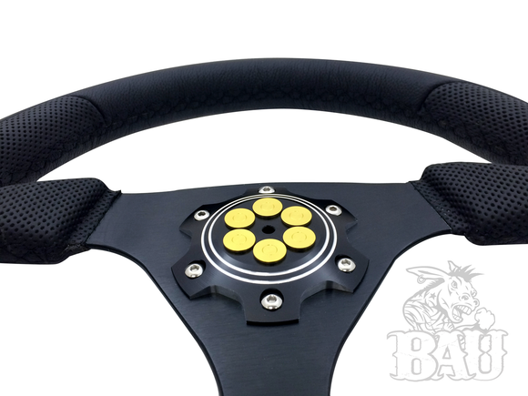 BAU (Bad Ass Unlimited) Six Shooter Steering Wheel Face Plate