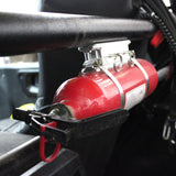 Billet Fire Extinguisher Roll Cage Mount by Factory UTV
