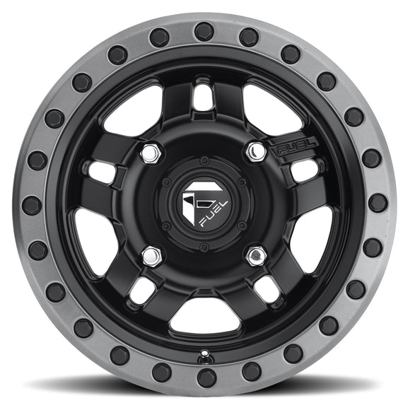 Anza D557 Simulated Beadlock Wheel by Fuel UTV