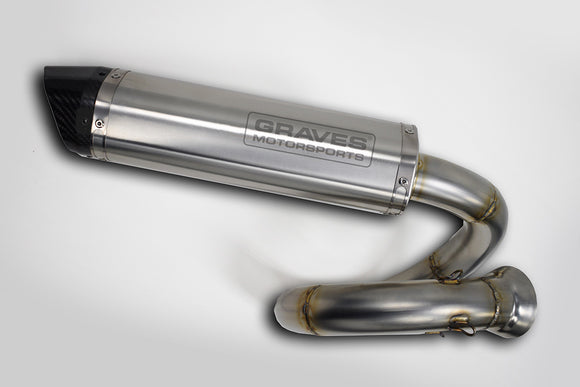 Can-Am Maverick X3 Turbo Slip-on Exhaust by Graves Motorsports