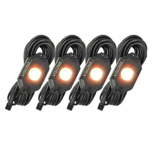 Vision X 9 WATT LED ROCK LIGHT 4 POD KIT
