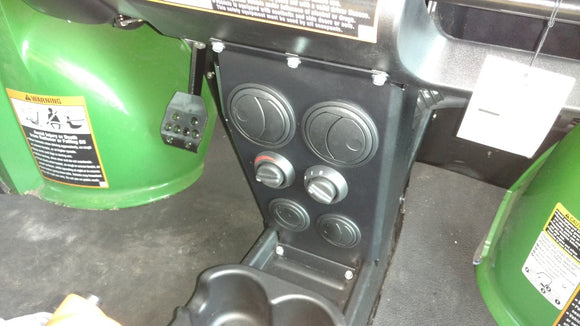 Ice Crusher Under Dash/Hood Cab Heater for John Deere Gator 625i by Couper's