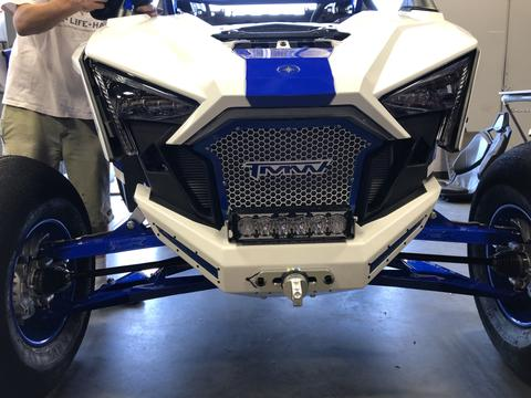 DOMINATOR RZR PRO XP WINCH FRONT BUMPER by TMW