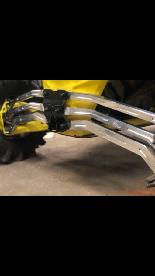 CAN AM X3 RADIUS RODS by L&W Fab