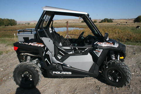 RZR 1000, Turbo, and 900 2015+ XC & S Lower UTV Doors by Ryfab (Free Shipping to the Lower 48)