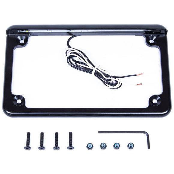 UTV LICENSE PLATE FRAME WITH LED LIGHT by Corbin Custom Works