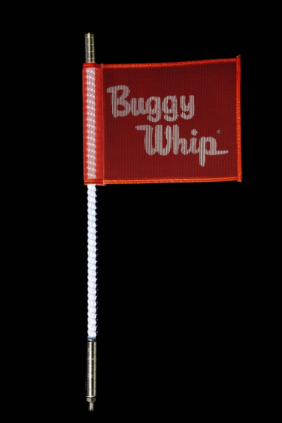 WHITE LED BUGGY WHIP® by Buggy Whip