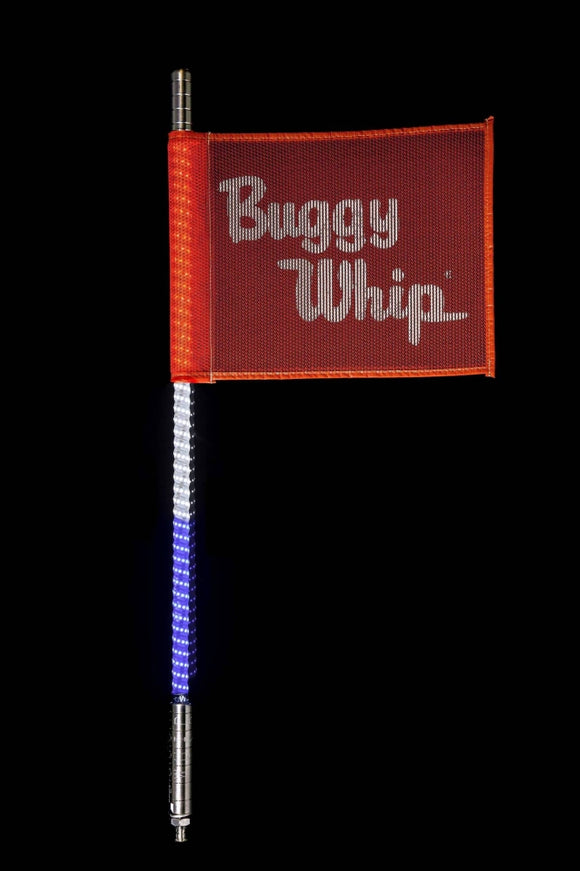 RED WHITE & BLUE LED BUGGY WHIP® by Buggy Whip