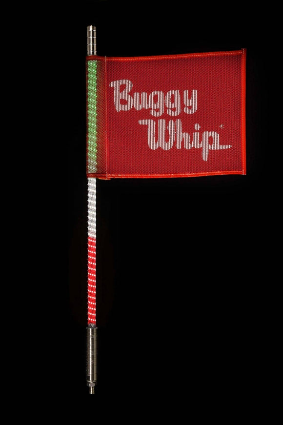 GREEN WHITE & RED LED BUGGY WHIP® by Buggy Whip