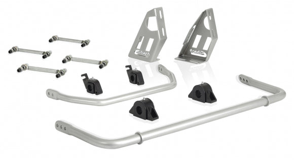 PRO-UTV - Adjustable Anti-Roll Bar Kit (Front and Rear + Brace + Endlinks) by Eibach