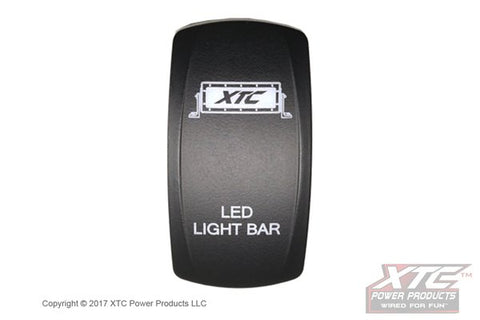 Carling Switch with LED Light Bar Actuator/Rocker