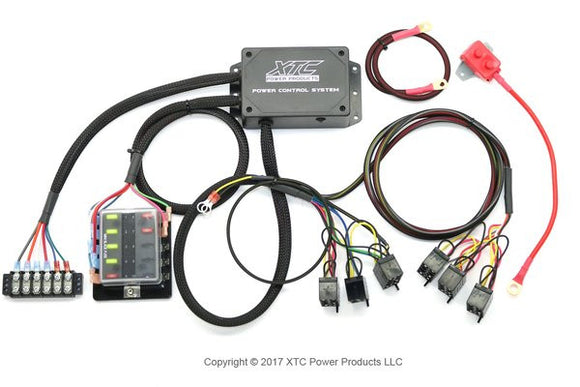 2019 Turbo S & 2019 RZR XP's Plug & Play™ 6 Switch Power Control System - PCS-64-TSX by XTC