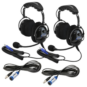 """Plus 2"" H22 Headset and Cable Expansion Kit by Rugged Radios"