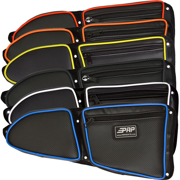 Front Door Bags for RZR Turbo, Turbo S, 1000, 1000s, and 900 2015+ by PRP