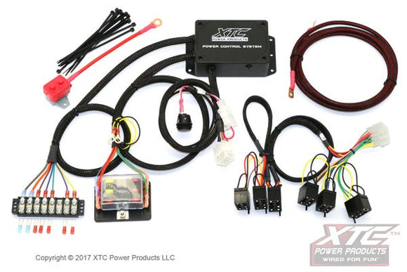 Power Control System with Strobe - Plug & Play Six Circuit Wire Harness with Strobe for RZR's and UTV's - by XTC