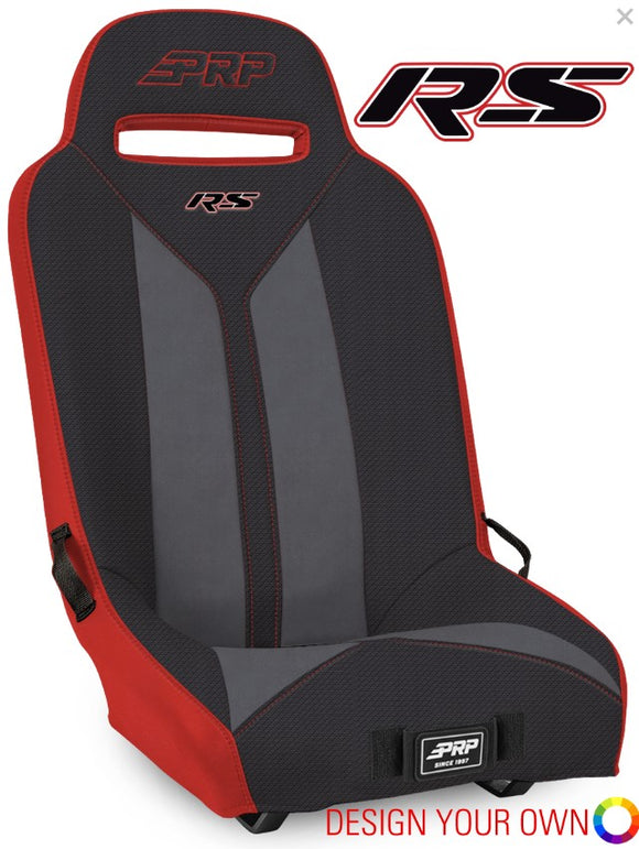 PRP RS Suspension Seat for Polaris UTV's- Design Your Own