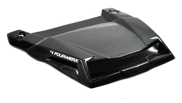 Polaris RZR 1000/900S/900 Carbon Fiber Scooped Hood by FOURWERX